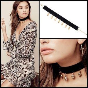 💕VANESSA MOONEY💕Sofia Velvet Choker Necklace